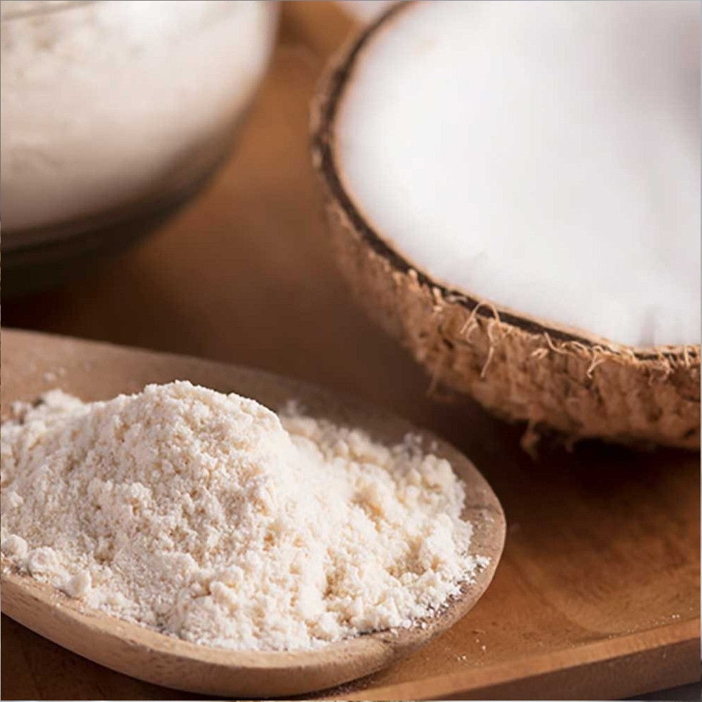 Farinha de Coco Branca - sem casca 1 kg  - Tudo Low Carb