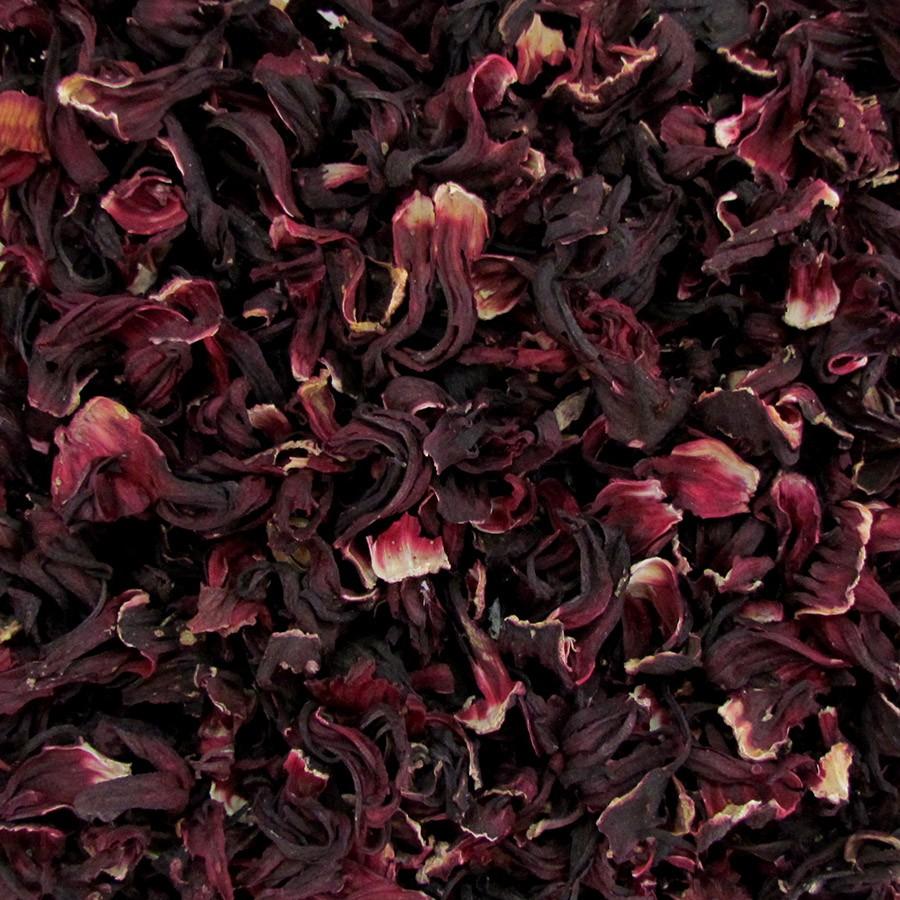 Flor de Hibisco Desidratada 100g  - Tudo Low Carb