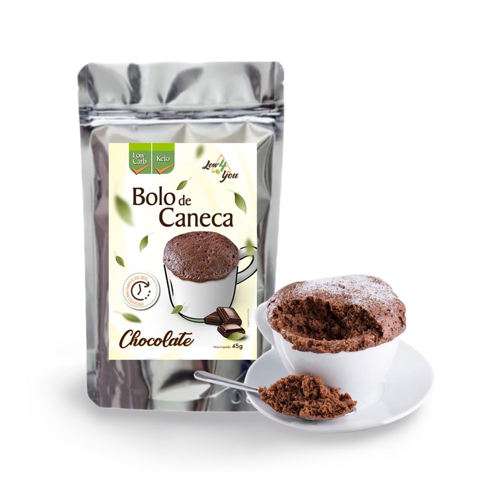 Kit Bolos de Caneca Low 4 You (Compre 3 Leve 4)  - TLC Tudo Low Carb
