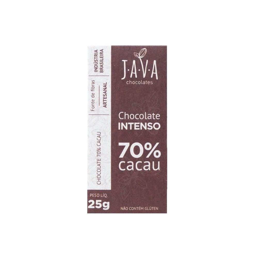 Kit Chocolates Java 25g (5 unidades)  - Tudo Low Carb
