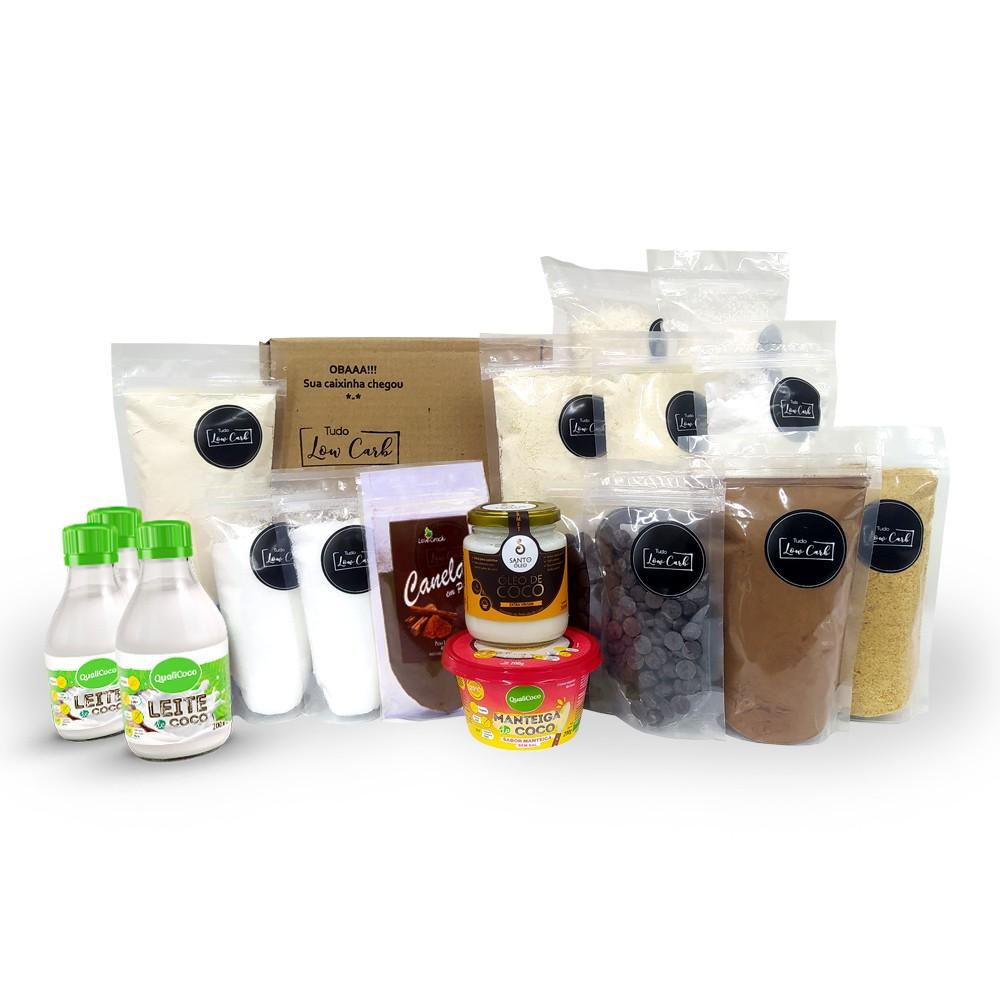 Kit Ingredientes Essenciais - Senhor Tanquinho  - Tudo Low Carb