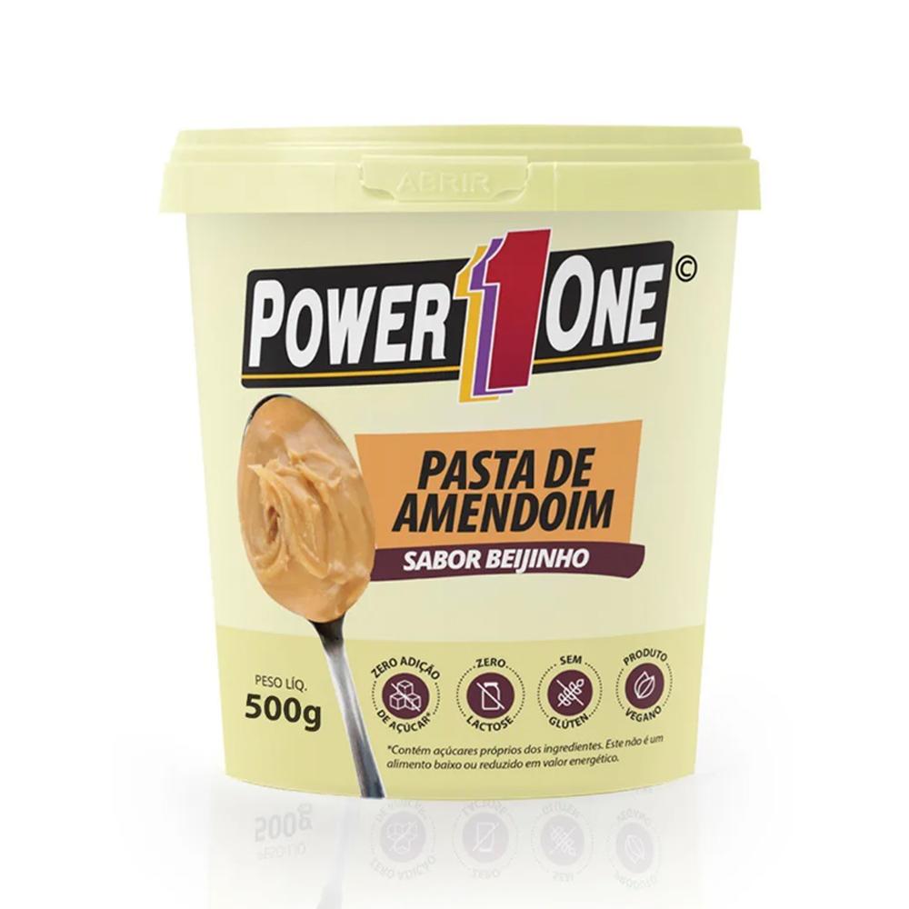 Kit Misto Pasta de Amendoim 500g Power One  - TLC Tudo Low Carb