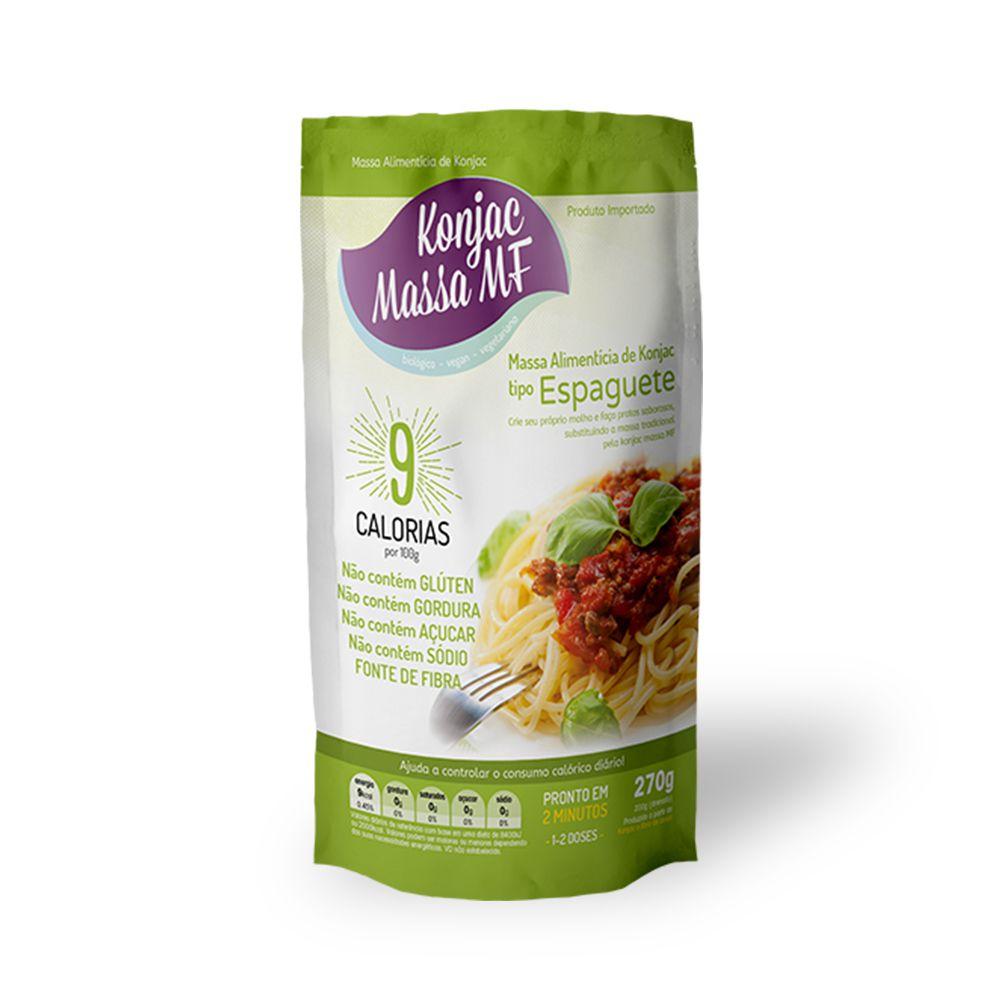 Konjac Massa Mf tipo Espaguete 270g  - TLC Tudo Low Carb