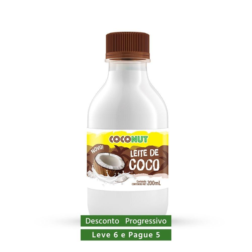 Leite de Coco Tradicional (sem açúcar) Coconut 200ml  - TLC Tudo Low Carb