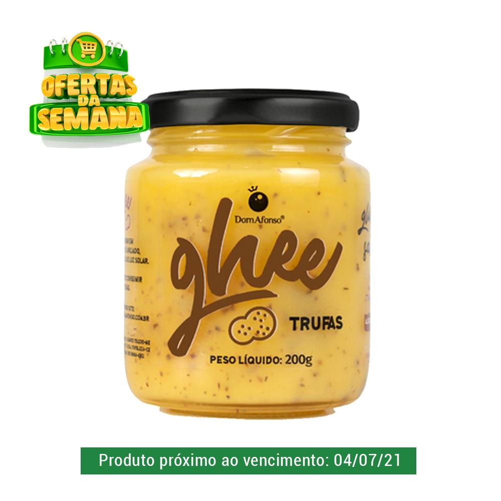 Manteiga Ghee com Trufas Dom Afonso 200g  - TLC Tudo Low Carb