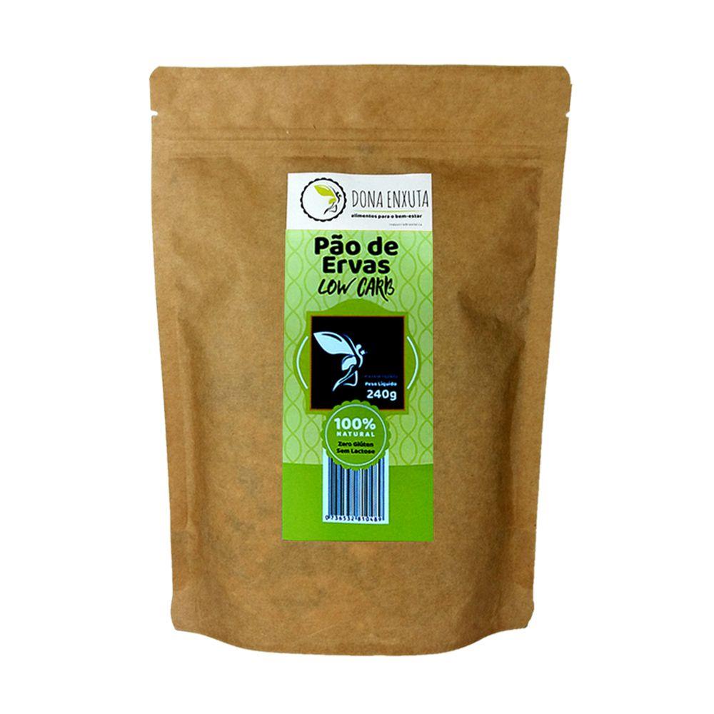 Mistura para Pão de Ervas Dona Enxuta 240g  - Tudo Low Carb