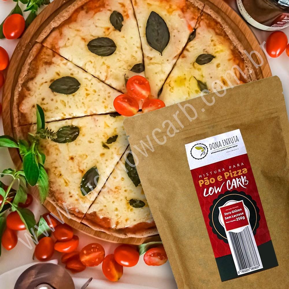 Mistura para Pão e Pizza Low Carb Dona Enxuta 256g  - Tudo Low Carb