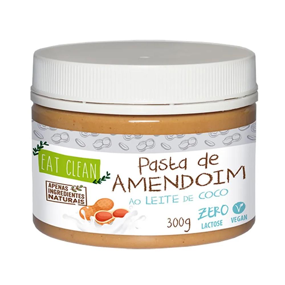 Pasta de Amendoim ao Leite de Coco Eat Clean 300g  - TLC Tudo Low Carb