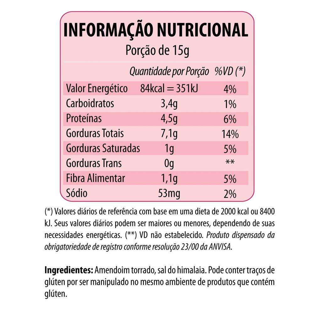 Pasta de Amendoim Crocante Salgada Eat Clean 300g  - Tudo Low Carb