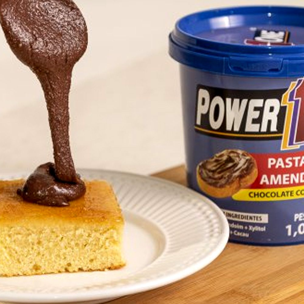 Pasta de Amendoim Power One Chocolate com Avelã 1,005 Kg  - Tudo Low Carb
