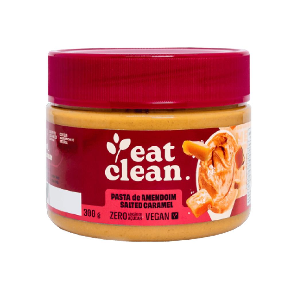 Pasta de Amendoim Salted Caramel Eat Clean 300g  - TLC Tudo Low Carb