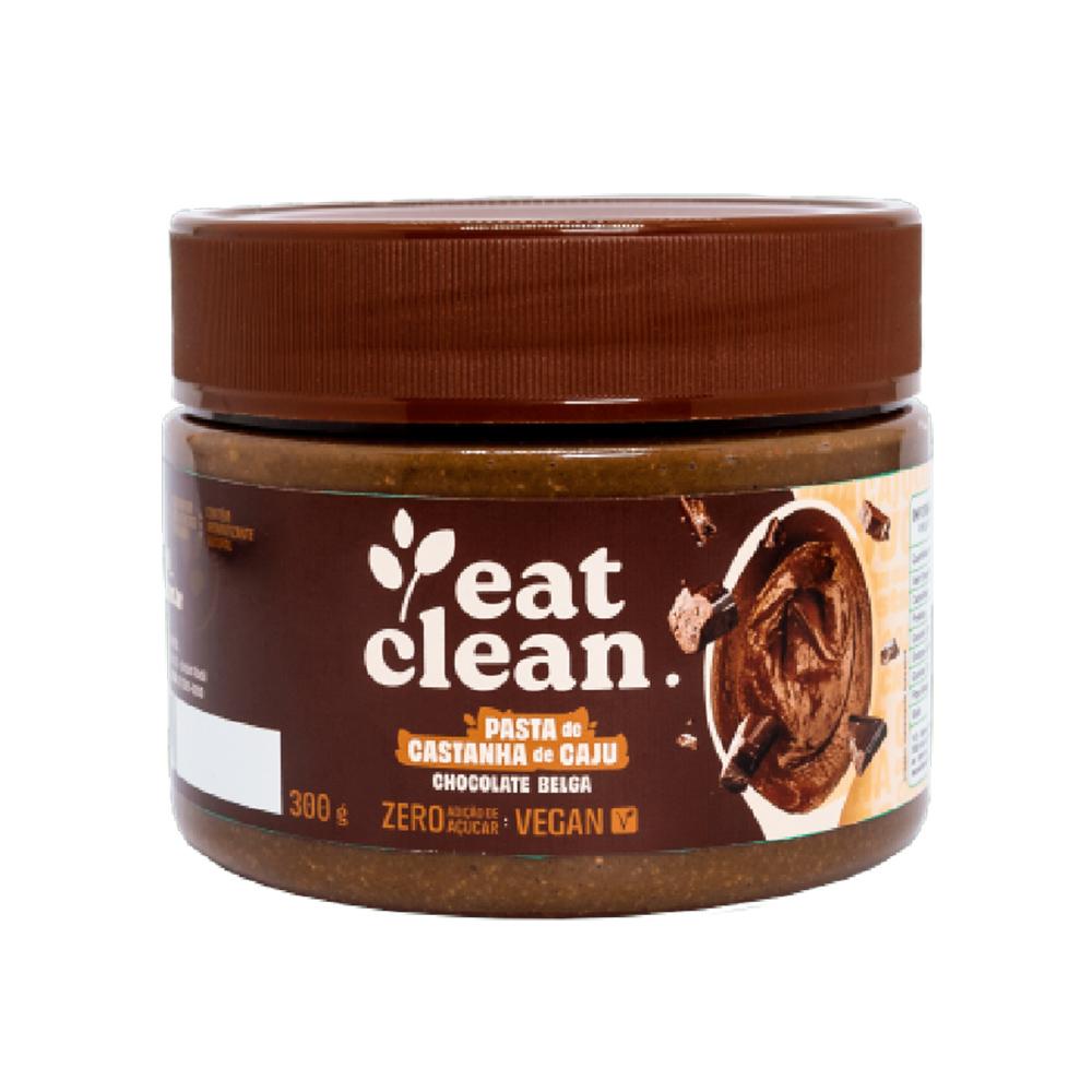 Pasta de Castanha de Caju Chocolate Belga Eat Clean 300g  - TLC Tudo Low Carb