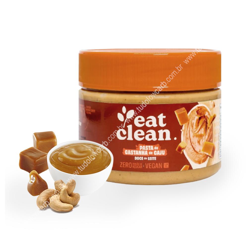 Pasta de Castanha de Caju Doce de Leite Eat Clean 300g  - TLC Tudo Low Carb