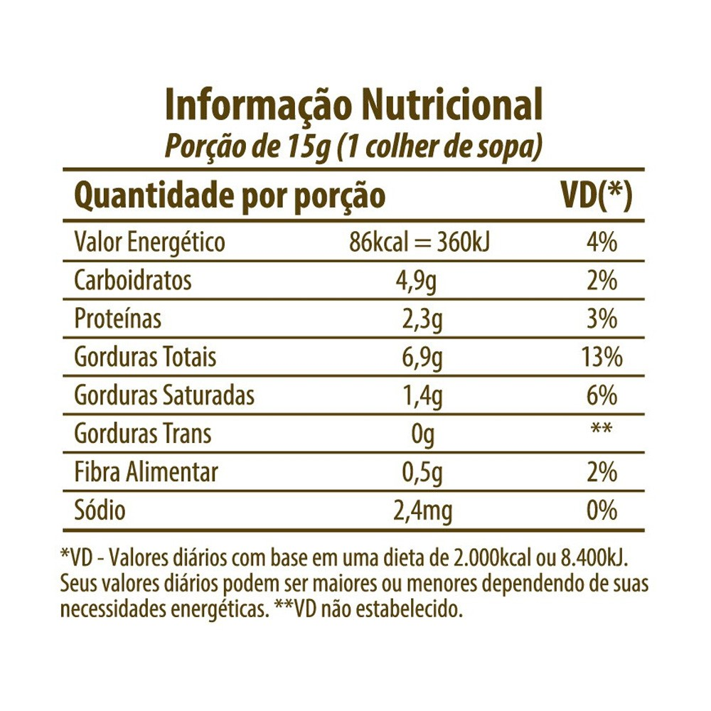 Pasta de Castanha de Caju Integral Eat Clean 300g  - Tudo Low Carb