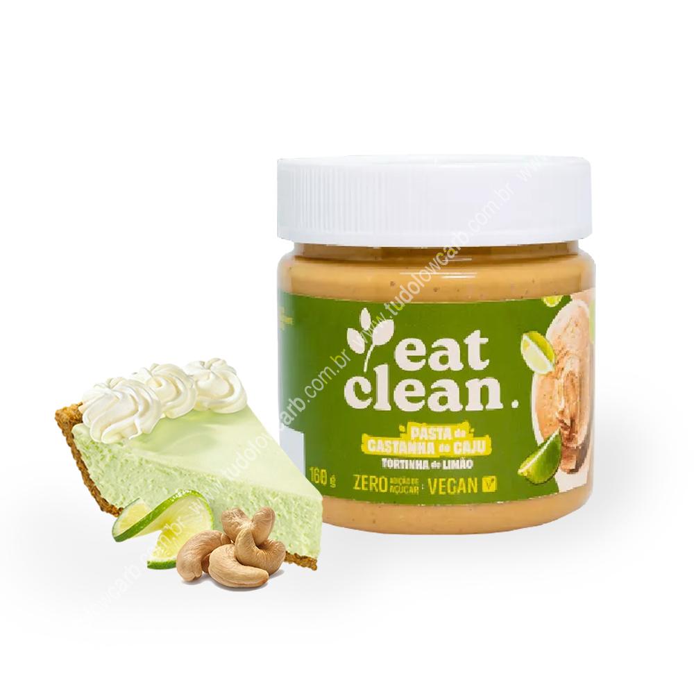 Pasta de Castanha de Caju Tortinha de Limão Eat Clean 160g  - TLC Tudo Low Carb