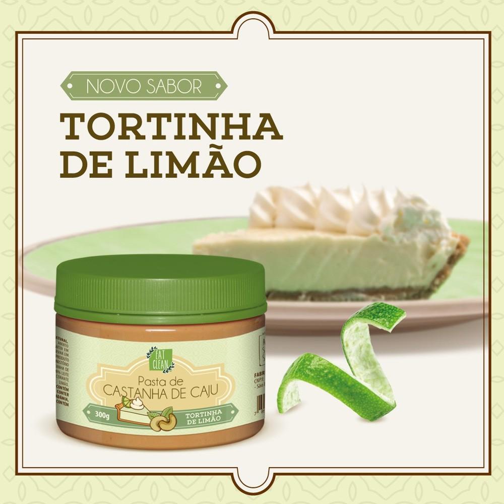 Pasta de Castanha de Caju Tortinha de Limão Eat Clean 300g  - Tudo Low Carb