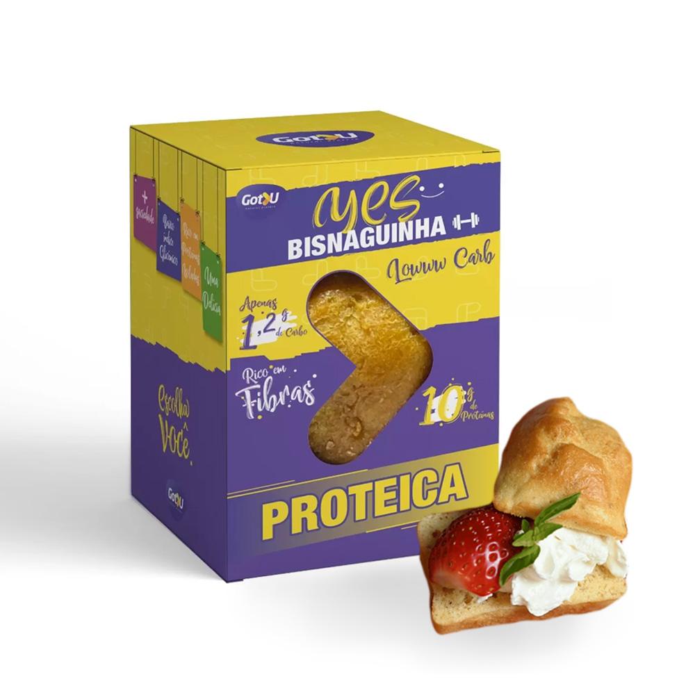 Bisnaguinha Yes Proteica Low Carb Got U Protein 40g  - TLC Tudo Low Carb