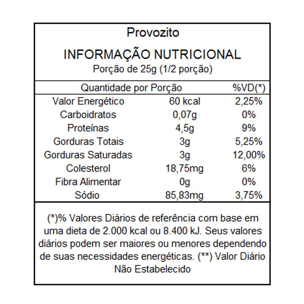 Queijo Provolone Desidratado sabor Cebola e Salsa Provozito 50g  - TLC Tudo Low Carb