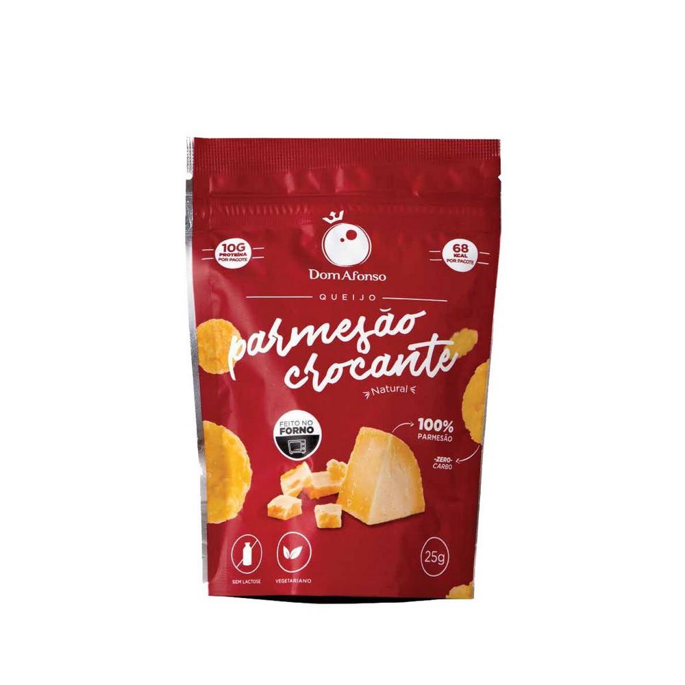 Snack de Parmesão Crocante Dom Afonso 25g  - Tudo Low Carb