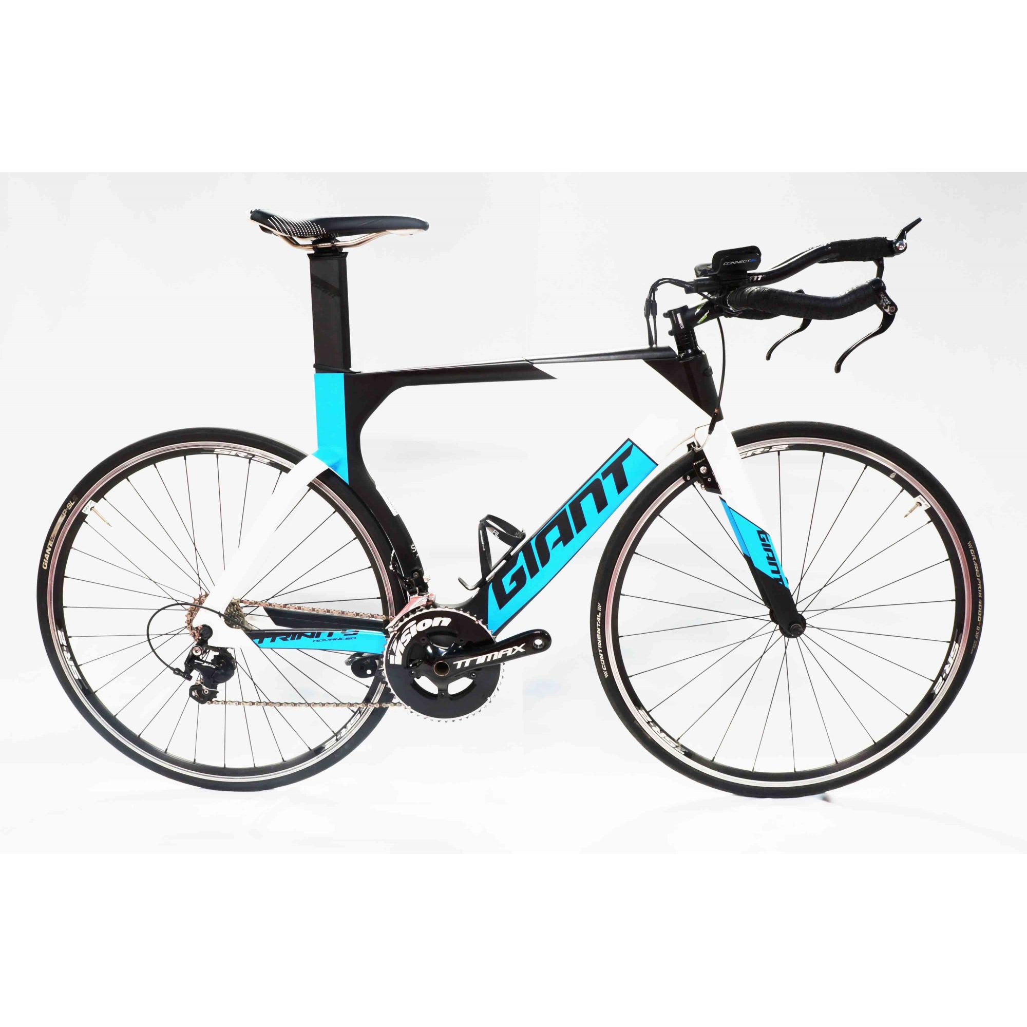 BICICLETA 700 GIANT TRINITY ADVANCED T.S PRETO/AZUL (semi nova)