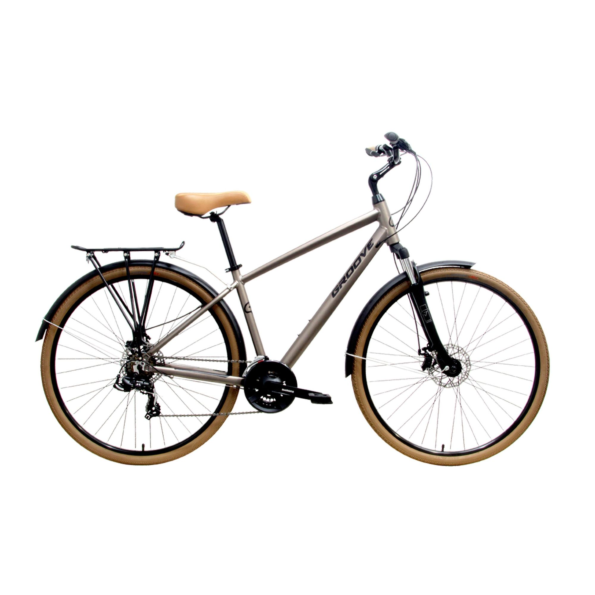 BICICLETA GROOVE BLUES T.19 CHAMPAGNE