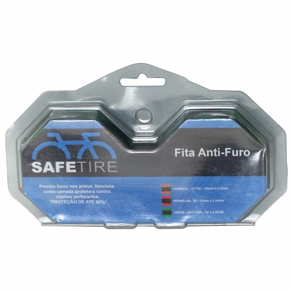 FITA ANTI-FURO SAFETIRE P/ 2 RODAS