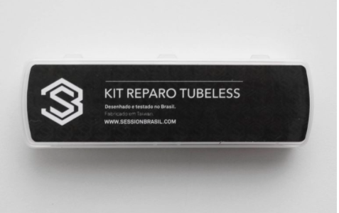 KIT REPARO TUBELESS P/ PNEU DE BICICLETA - SESSION PARTS