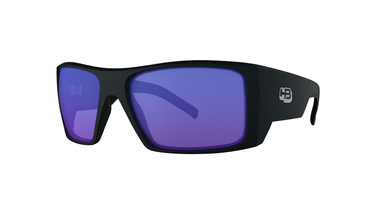 OCULOS HB ROCKER 2.0 MATTE BLACK BLUE / LENTE CHROME