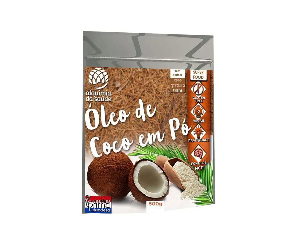 OLEO DE COCO ALQUIMIA DA SAUDE PO 400 GR