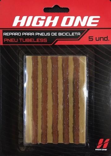 REPARO TUBELESS TIPO MACARRAO C/ 5 UNIDADES HIGHONE