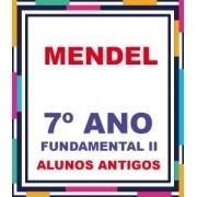 ALUNOS ANTIGOS - LISTA COMPLETA AGOSTINIANO MENDEL 7º ANO FUNDAMENTAL EXCETO A LICENÇA (COM DESCTO)