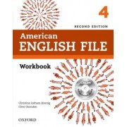 American English File 4 Workbook With Ichecker - 2nd Ed