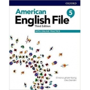 American English File 5 - Student Book With Online Practice - 3rd Ed.
