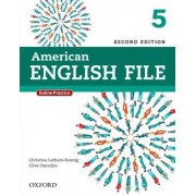American English File 5 Students Book With Online Skills - 2nd Ed
