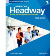 American Headway 3 Sb With Oxford Online Skills Program - 3rd Ed