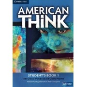 American Think 1 Student´s with online workbook and online practice