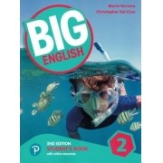 Big English 2 - Students Book With Online Resources - American Edition - 2nd Ed