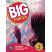 Big English 3 - Students Book With Online Resources - American Edition - 2nd Ed