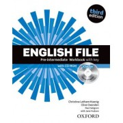English File Pre-intermediate Wb With Key And Ichecker - 3rd Ed
