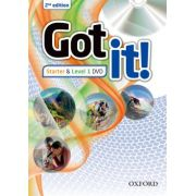 GOT IT! STARTER & LEVEL 1 DVD - 2ND ED