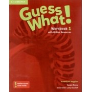 Guess What! 1 Workbook With Online Resources - American