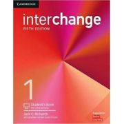INTERCHANGE 5ED 1 SB W/OLINE SELF-STUDY