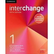 INTERCHANGE 5ED 1 W/ ONLINE SELF-STUDY AND ONLINE WB