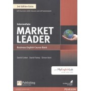 Market Leader Extra Intermediate Cb With Dvd-rom And Myenglishlab - 3rd Ed