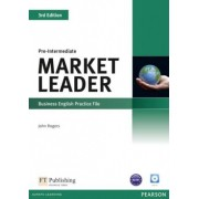 Market Leader Pre-intermediate Practice File With Audio Cd - 3rd Ed