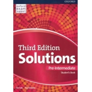 Solutions Pre-intermediate Student´s Book And Online Practice Pack - 3rd Ed