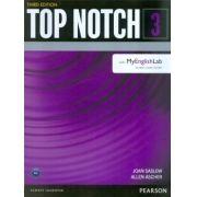 TOP NOTCH 3 SB WITH MYENGLISHLAB - 3RD ED