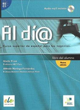 Al Dia Superior - Libro Del Alumno Con Cd Audio Mp3 - Nueva Edicion