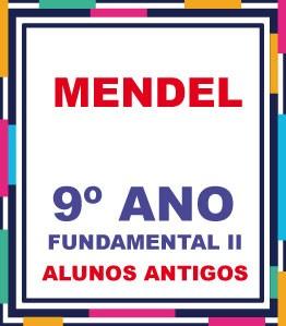 ALUNOS ANTIGOS - LISTA COMPLETA AGOSTINIANO MENDEL 9º ANO FUNDAMENTAL EXCETO A LICENÇA (COM DESCTO)