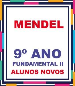 ALUNOS NOVOS - LISTA COMPLETA AGOSTINIANO MENDEL 9º ANO FUNDAMENTAL EXCETO A LICENÇA (COM DESCTO)